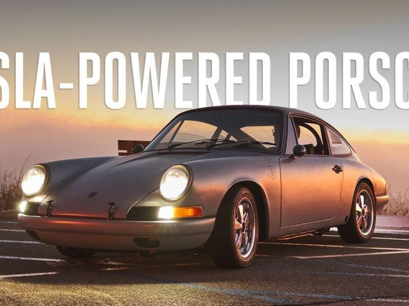 Ce Tesla est alimenté un moteur Porsche 912 : une nouvelle face du vintage restaurations